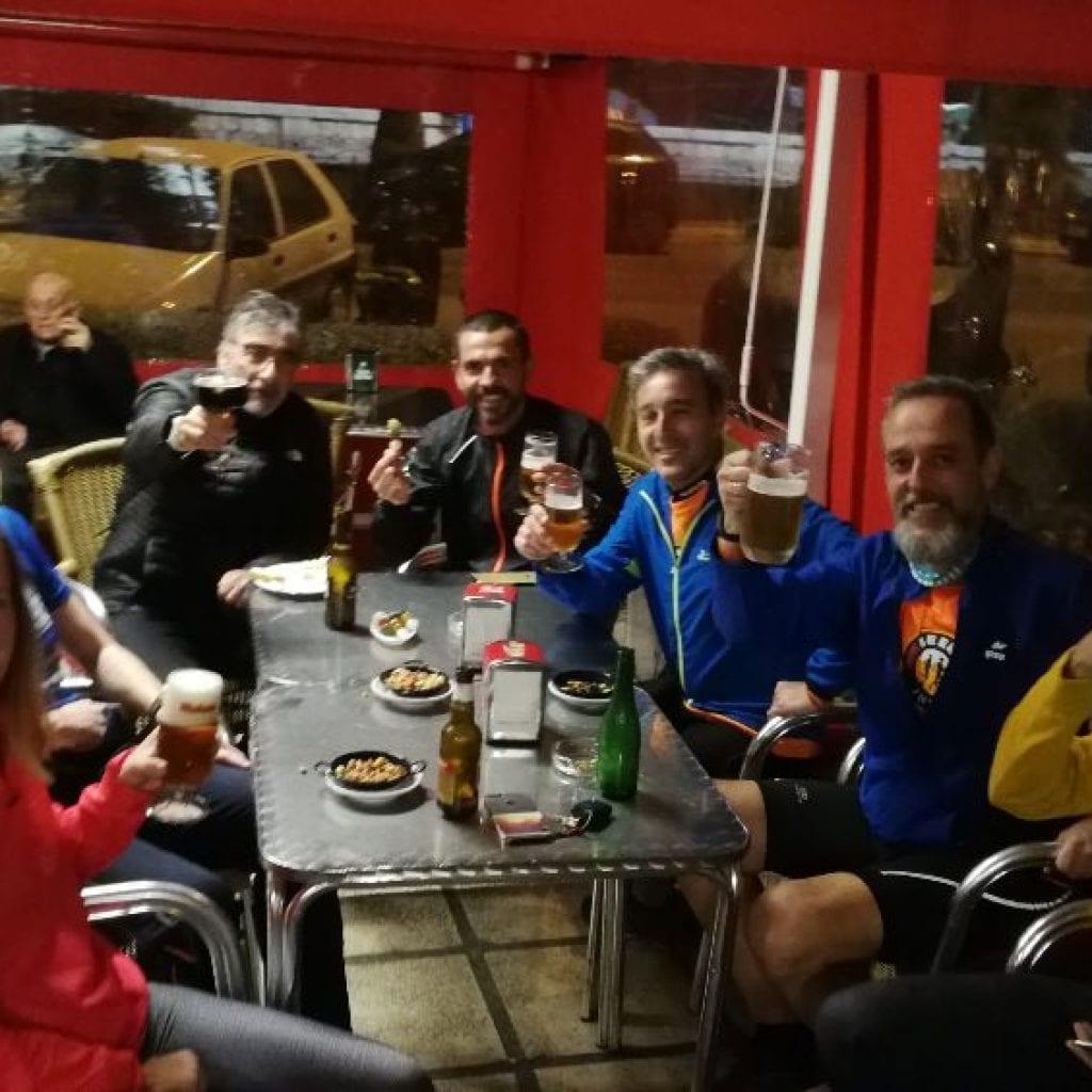 Último entreno previo a la Media Maratón de Málaga
