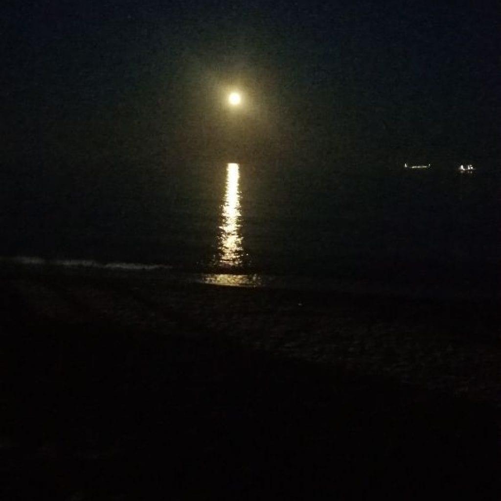 Correr a la luz de la luna llena