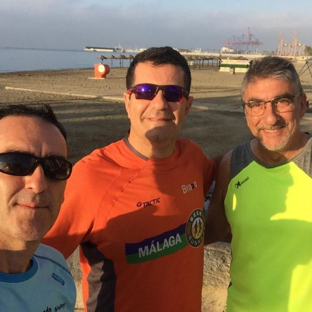 Quemagrasas mañanero paseo marítimo de Málaga