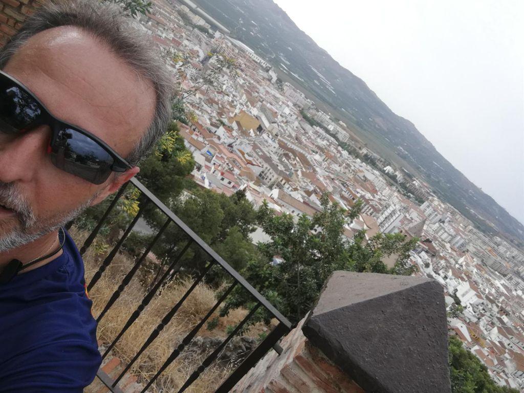 A la conquista de la Fortaleza. Correr por Vélez Málaga. Entrenos duros.