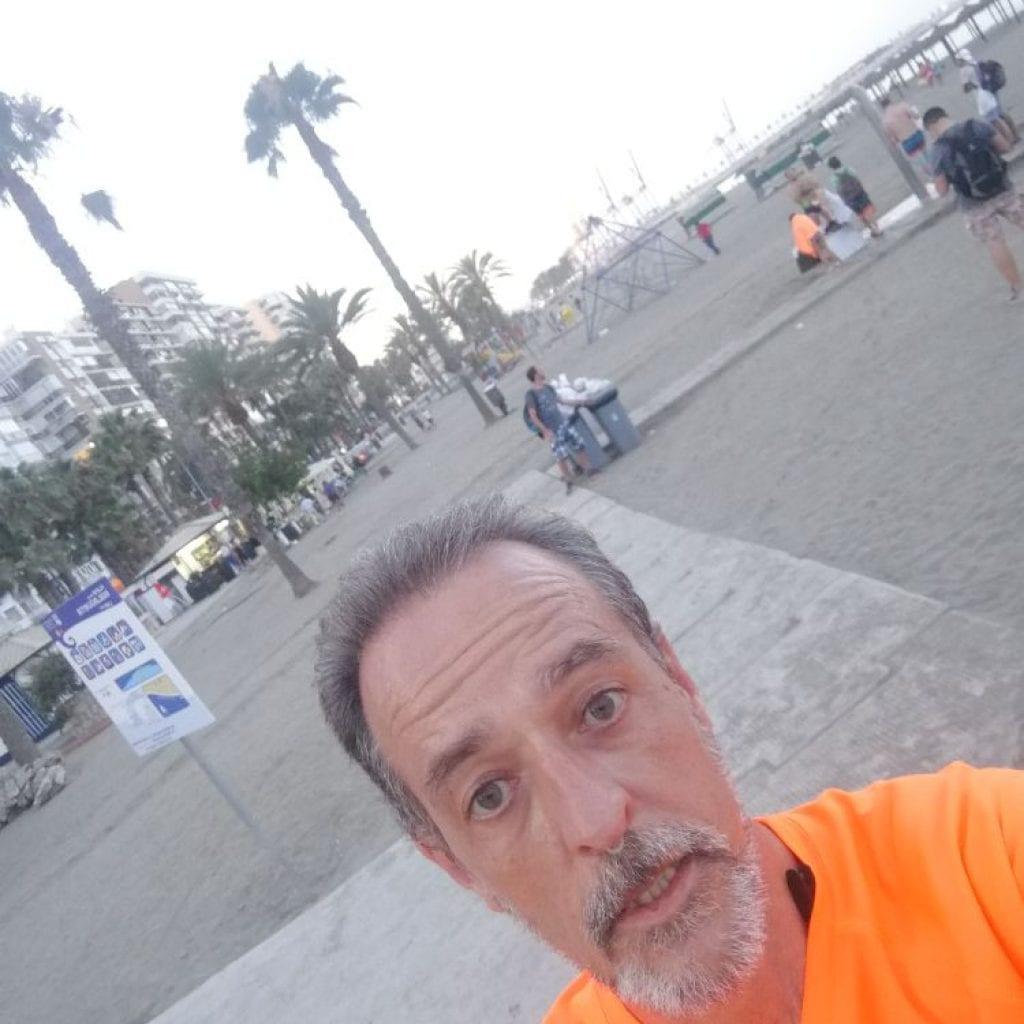 Correr por Málaga con los Beer Runners en verano