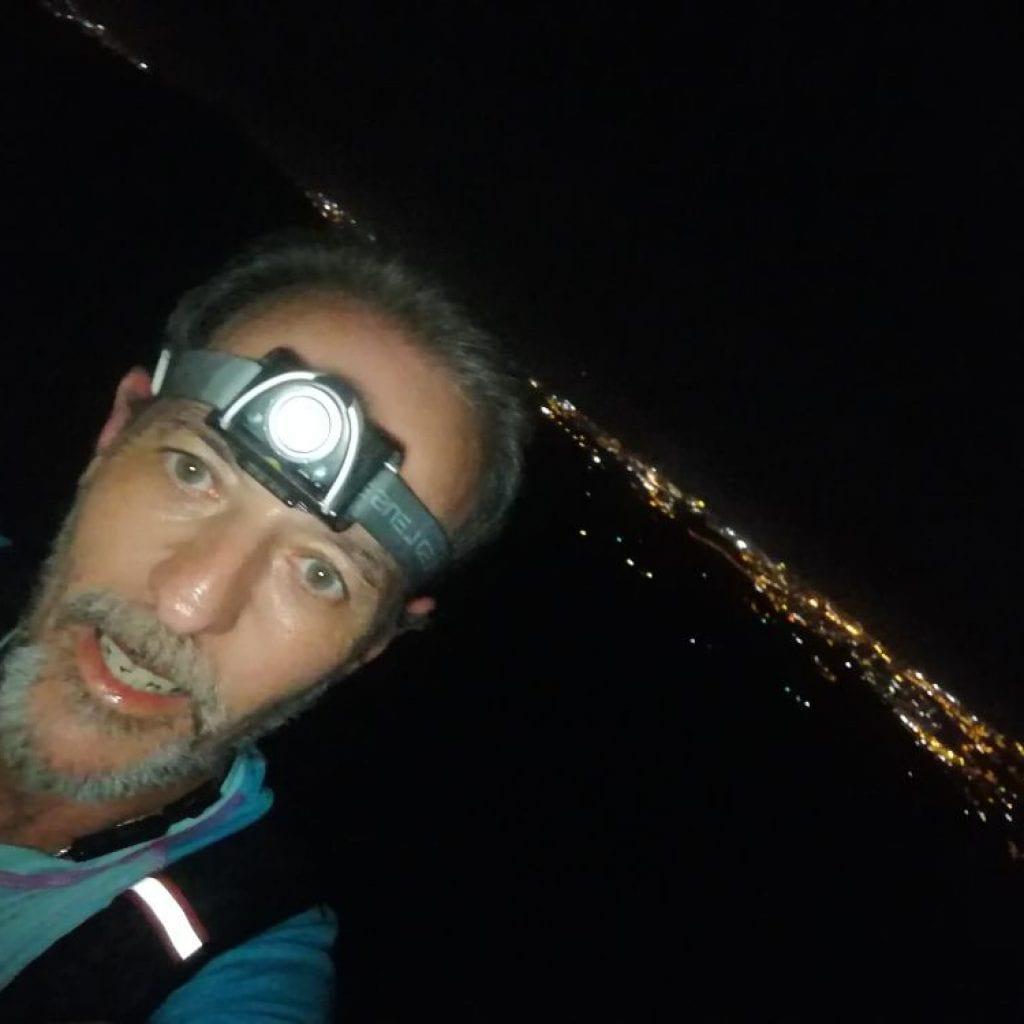 Trail nocturno La Jábega, otro nivel
