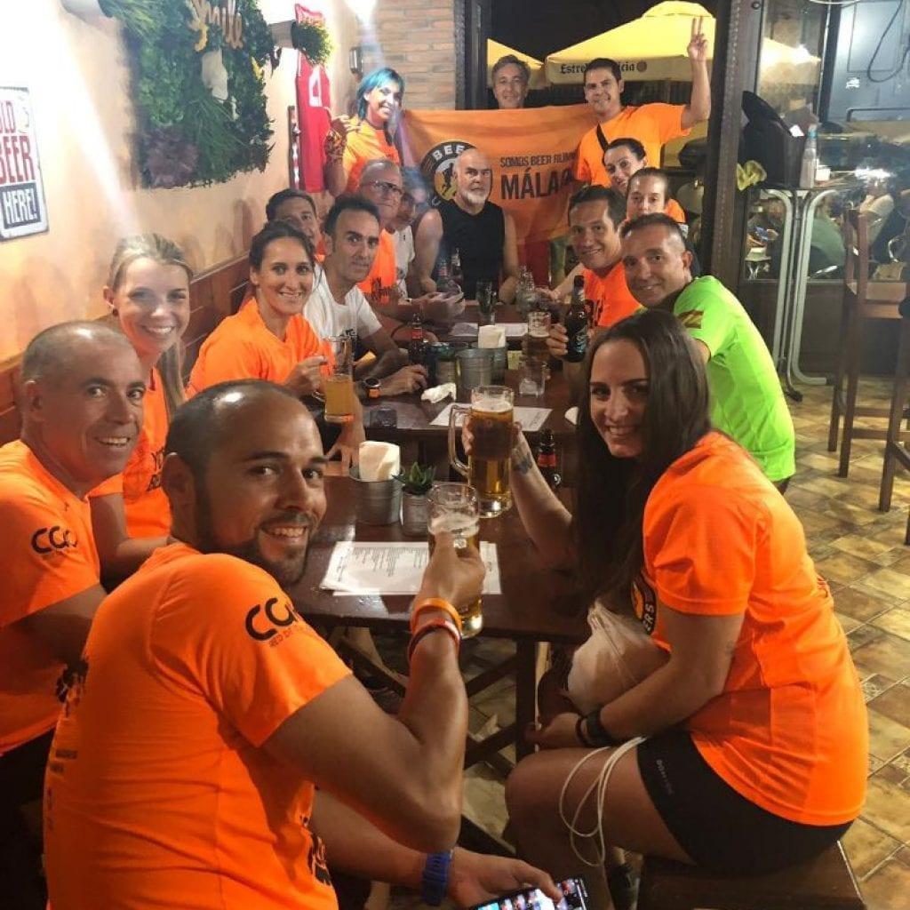 Entreno Guadalhorce con los Beer Runners