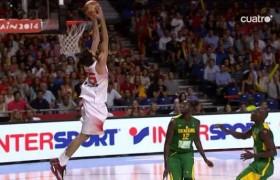 Canastón de Abrines Mediaset Spain2014 Mundial de Baloncesto Basket