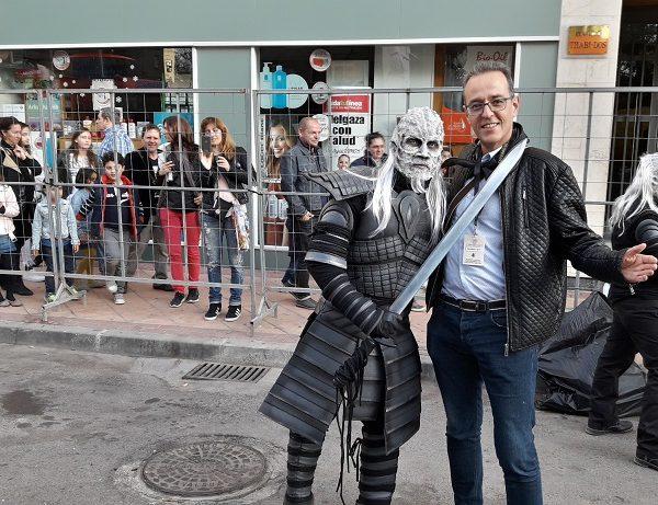 snapchat árabe espectáculo de juguete en Murcia